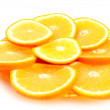 Orange segments — Stock Photo