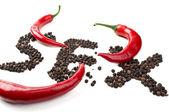 Red chili — Stock Photo