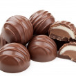 Stock Photo: Delicious chocolates