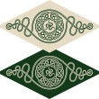 Stock Vector: Celtic style pattern