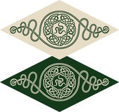Celtic style pattern — Vettoriale Stock
