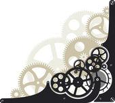 Cog wheels — Stock Vector