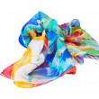 Variegated scarf — Stock Photo