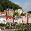 Stock Photo: Cityscape of Karlovy Vary