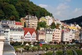 Cityscape of Karlovy Vary — Stock Photo