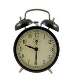 Retro alarm clock showing 9 hours and 30 minutes — Stock Photo
