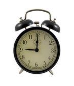 レトロな目覚まし時計 9 時間を示す — ストック写真