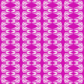 Abstract magenta seamless floral background pattern — Stock Vector