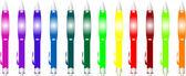цветная ручка на белом фоне — Cтоковый вектор