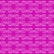 Seamless ornament magenta decorative background pattern — Stock vektor