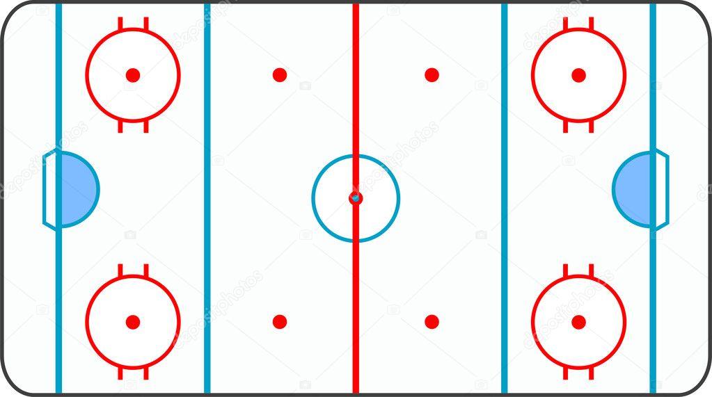 Как сделать разметку по хоккею