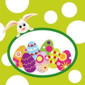 Springtime Easter holiday wallpaper — ストックベクタ