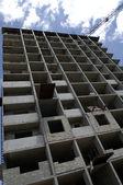 Frame apartment building — Stock Photo