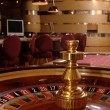 Stock Photo: Roulette and table game bets in foreground