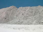 Mound of rubble — Stock Photo