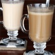 Closeup of coffee and tea — Stock Photo