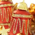 Colorful Christmas bells — Stock Photo #5162158