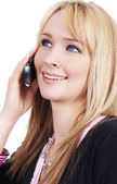 Beautiful blonde businesswoman — Stock Photo