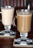 Closeup of coffee and tea — Stock Photo