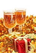 Colorful Christmas theme — Stock Photo