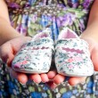 Children's bootees — Stock Photo #5315097