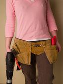 DIY Woman — Stock Photo