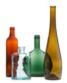 Still life with bottles — Stock Photo
