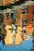 Reflection in the Venice channel — Stock Photo
