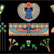 Ancient Egyptian symbols and signs(vector) - Stock Vector