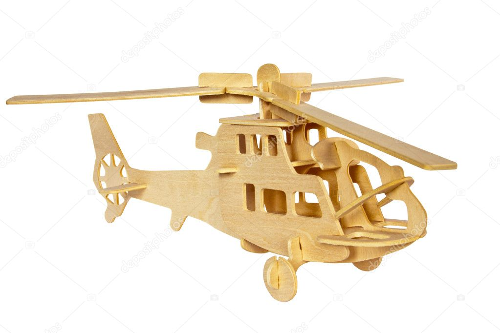 Вертолет из дерева своими руками