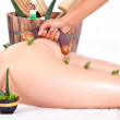 Massage — Stockfoto