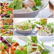 Collage Salad — Stock Photo