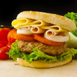 Big Burger - Stock Photo
