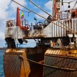 Old trawler — Stock Photo