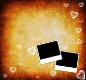 Valentine background card — Stock Photo