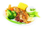 Tasty fish fillet — Stockfoto