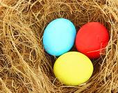 Fondo de huevos de pascua — Foto de Stock