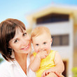 Mother and baby portrait — Stock Photo #5293460