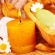 Spa candle - Foto Stock
