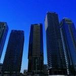 paisagem urbana moderna — Foto Stock