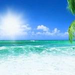 美丽的海滩 — 图库照片
