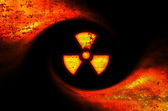 Toxic symbol abstract background — Stock Photo
