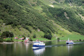 Norwegian Fjords Landscape — Stock Photo