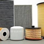 Various car filters — Stock Photo #5366009