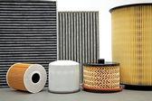 Various car filters — Stock Photo
