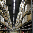 Warehouse full of goods — Stock Photo #5136298