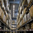 Warehouse with goods — Stock Photo #5136326