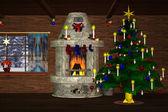 Christmasroom — Stock Photo