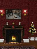 Christmasroom 2 — Stock Photo