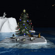 Stock Photo: Christmas at North Pole